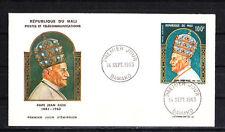 Mali enveloppe   Pape Jean XIII   1965
