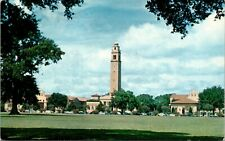 L.S.U. Campus Scene Baton Rouge  Louisiana Postcard