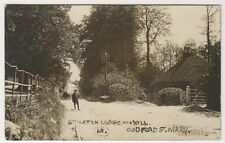 Wiltshire postcard - Stockton Lodge & Mill, Codford St Mary - RP