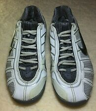 Nike Zoom Ballestra White Gray Silver Fencing Shoes Size 6
