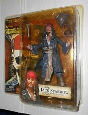 """NECA Pirates of the Caribbean Series 1 """"Smiling"""" Jack Sparrow figure NEW"""