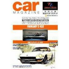 Tomica Car Magazine Edition Nissan Fairlady Z 432 model kit fan book w/Figure
