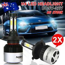 Nighteye H4 72W 9000LM HB2 LED Headlight Kit Hi/Lo 6500K Beam Globe Bulbs White