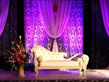 Damask Curtain 10Wx9H Panel Drape Photography Studio Backdrop Stage Photo Shoot