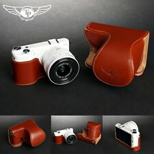 Handmade Genuine real Leather Full Camera Case bag Cover for Samsung NX2000