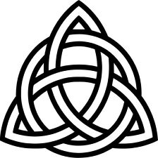 Triquetra Symbol Vinyl Sticker Decal Celtic Knot Pagan - Choose Size & Color
