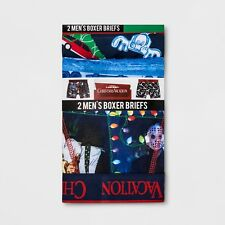 "Men's National Lampoon Christmas Vacation 2pk Boxer Size LARGE 36-38"" BRAND NEW"