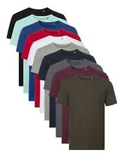 Russell Pure Coton Bio en Forme De Moulant Col Rond Uni T-Shirt XS-3XL