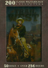 The Trail West: 200 Classic Western Film Collection (DVD, 2013, 50-Disc Set)