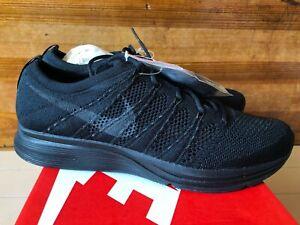 Nike Flyknit Trainer Triple Black size 9