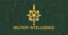 Military Intelligence License Plate -LP 263