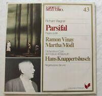 PARSIFAL RICHARD WAGNER LP RAMON VINAY MARTHA MODL VINYL ITALY 1981 NM/NM