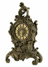 Veronese Bronze BAROQUE Style Mantle Clock Statue Figurine ~ Home Decor ~