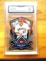 2013 Topps Mike Trout #1 Cut to the Chase Refractor Gem 10