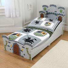 Structures de lit et sommiers gris pour enfant