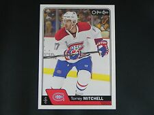 2016-17 O-Pee-Chee OPC #401 Torrey Mitchell Montreal Canadiens