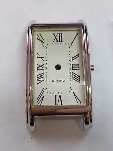 Ladies Chromed Watch Case, Unbranded Dial - Quartz - 6.75 x 8''' New (JC048)