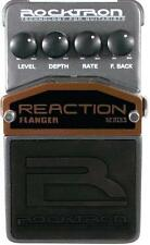 Rocktron REACTION FLANGER Pedal - NEW!
