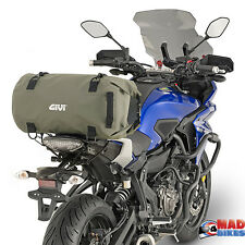 Givi EA114KG Waterproof Motorcycle Tail Pack Seat Dry Bag 30 Ltrs Kaki Green