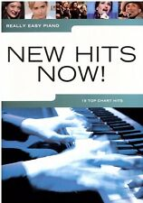 Klavier Noten : New Hits now (Really Easy Piano) CHART HITS leicht  - AM 1009206