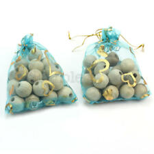 40 pcs Natural Cedar Wood Moth Balls Hangers Blocks Repellent Wardrobe Drawer