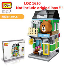 431pcs LOZ MINI Blocks DIY Building Kids Toys Puzzle Cartoon Bear Store 1630