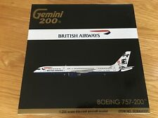 BRITISH AIRWAYS Boeing 757-200 Diecast Metal Gemini 200 Model 1:200 G2BAW691