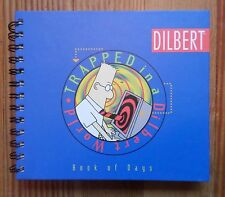 Dilbert Book of Days Calendar To-Do List Trapped in a Dilbert World Hardcover