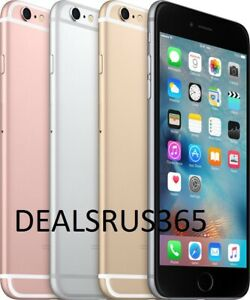 Apple iPhone 6s 16GB Gold Gray Silver Unlocked