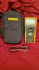 New Listingfluke 179 True Rms Digital Multimeter Yellowblack Cat Iv