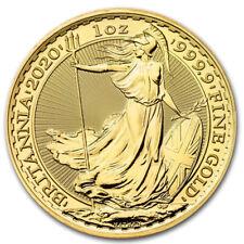 1 oz Gold Britannia 2020 - 100 Pounds Großbritannien - Goldmünze 999,9