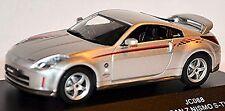 Nissan 350z nismo s Tune coupé z33 fair lady Z 2002-05 plata metálica 1:43