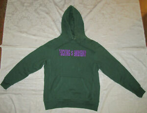 F*cking Awesome FA Embroidered Hoodie Green Size M Medium Jason Dill Supreme