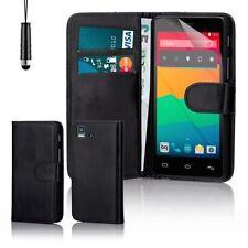 Fundas con tapa Para BQ Aquaris 5 de piel sintética para teléfonos móviles y PDAs