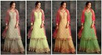 Bollywood Designer Salwar Kameez Pakistani Suit Party Wear Shalwar Kameez New KB