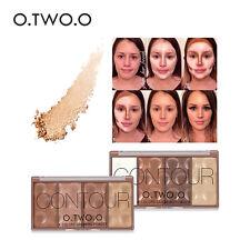 4 Couleurs Beauté Maquillage Poudre Glow Contour Kit Bronzer Highlighter Palette