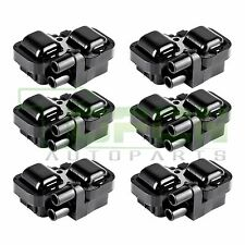 Pack Of 6 Ignition Coil Coils on pack  For Mercedes-Benz C CL CLK ML Class UF359