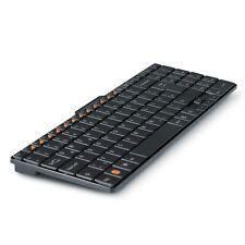 CSL Premium Mini Wireless 2,4GHz Tastatur Keyboard im Slim Design QWERTZ Layout