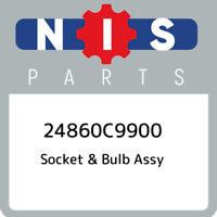 24860C9900 Nissan Socket & bulb assy 24860C9900, New Genuine OEM Part