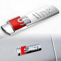 Metall S SLINE Logo Abzeichen Emblem Sticker Decal für AUDI SPORT TT RS S3.