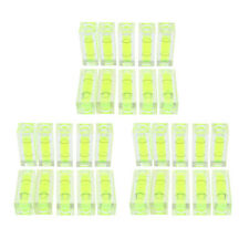 Mini Spirit Level Mini Bubble Level Square for Measuring Instruments 30Pcs
