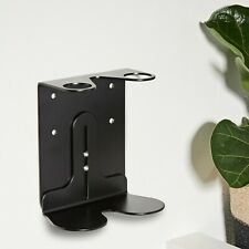 Kuishi Black Regular Wall Mounted Soap Dispenser Holder for Shampoo Shower Gel