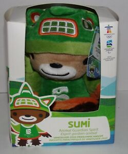 Vancouver 2010 Paralympic Mascot Sumi Plush Toy - Brand New In Box