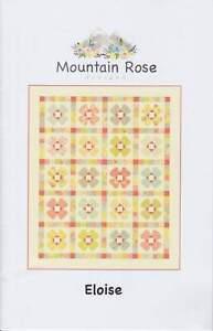 """Moda ELOISE Quilt Pattern Mountain Rose Designs - 59""""x71"""" Ella & Ollie"""