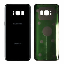Samsung Galaxy S8 Back Glass Cover Battery Rear Door Black Replacement G950