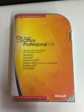 Office Professional 2007 suite