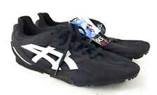 Asics GN703 Size 11.5 Lightning Track Spikes Black With Studs And Tool NEW