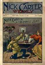 364 Nick Carter Weekly Dime novels on DVD