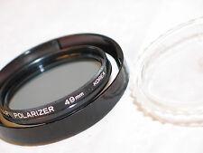KALIMAR 49mm POLARIZER filter w/ case