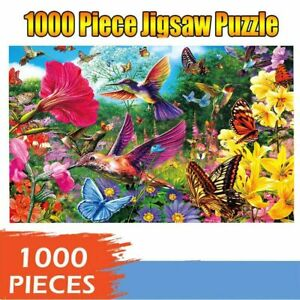 New Puzzle Birds Jigsaw 1000 Piece Pieces Educational puzzle Gift Kids Adults